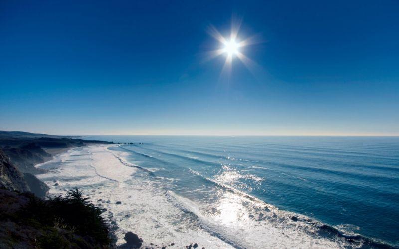 Sunshine beach wallpaper