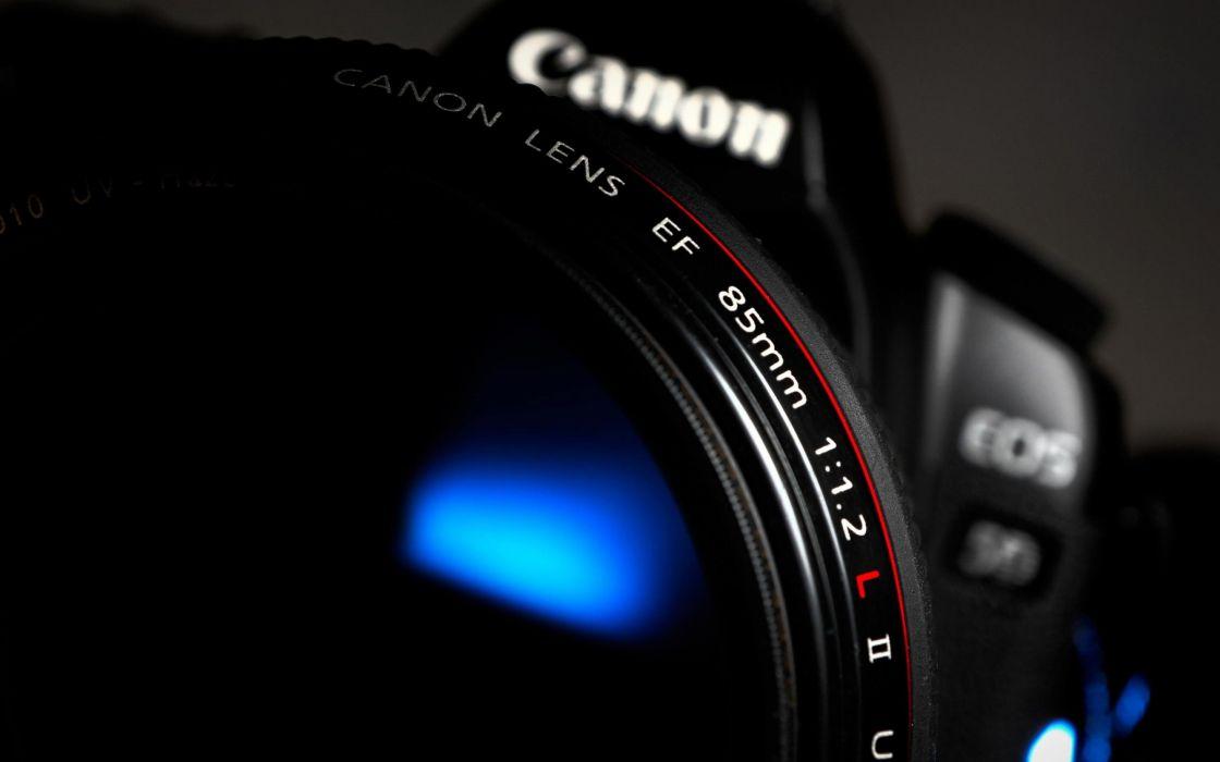 Cannon camera lense wallpaper