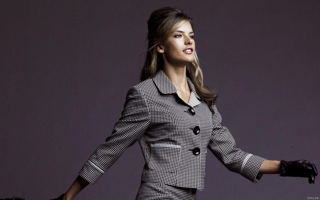 Alessandra ambrosio fashion dress wallpaper