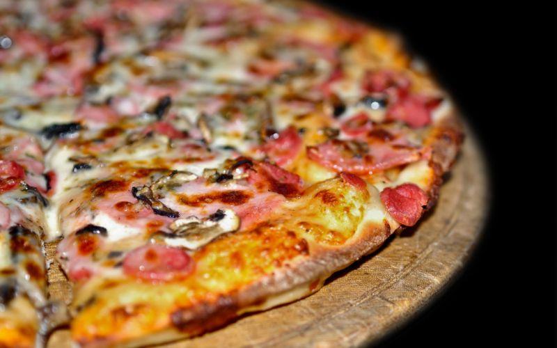 Food pizza wallpaper