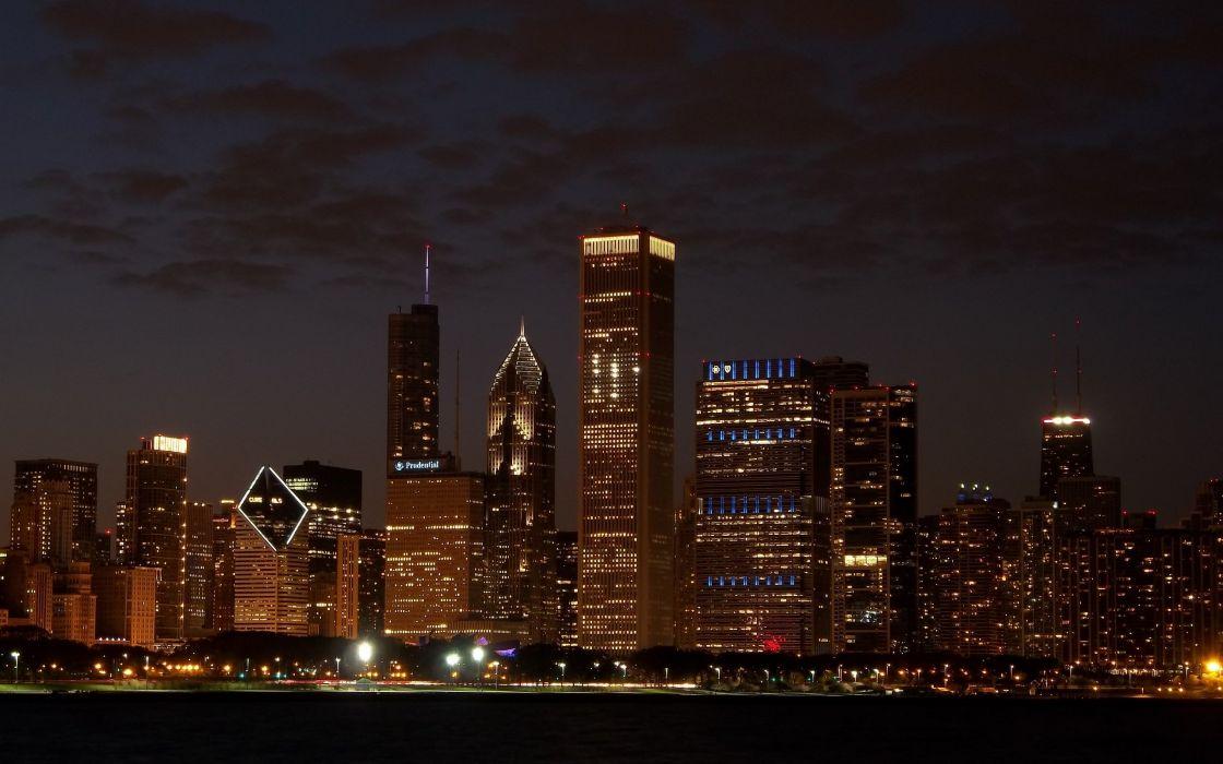 Chicago skyline 2012 wallpaper