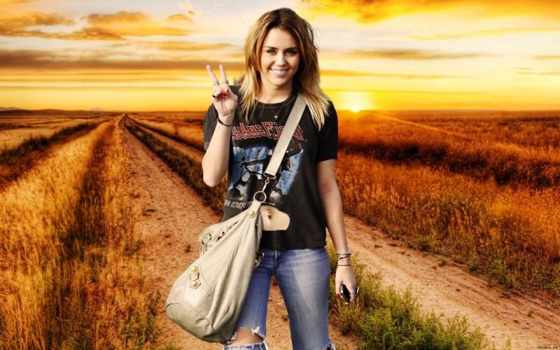Miley cyrus new 2011 wallpaper