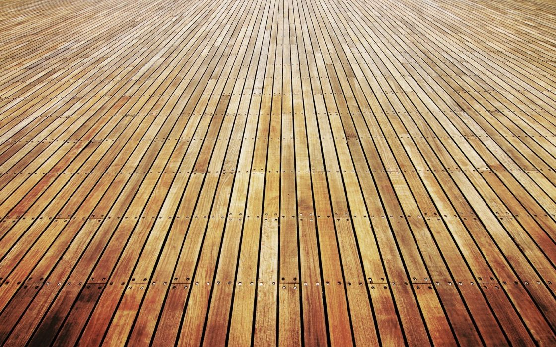 Wooden floor wallpaper
