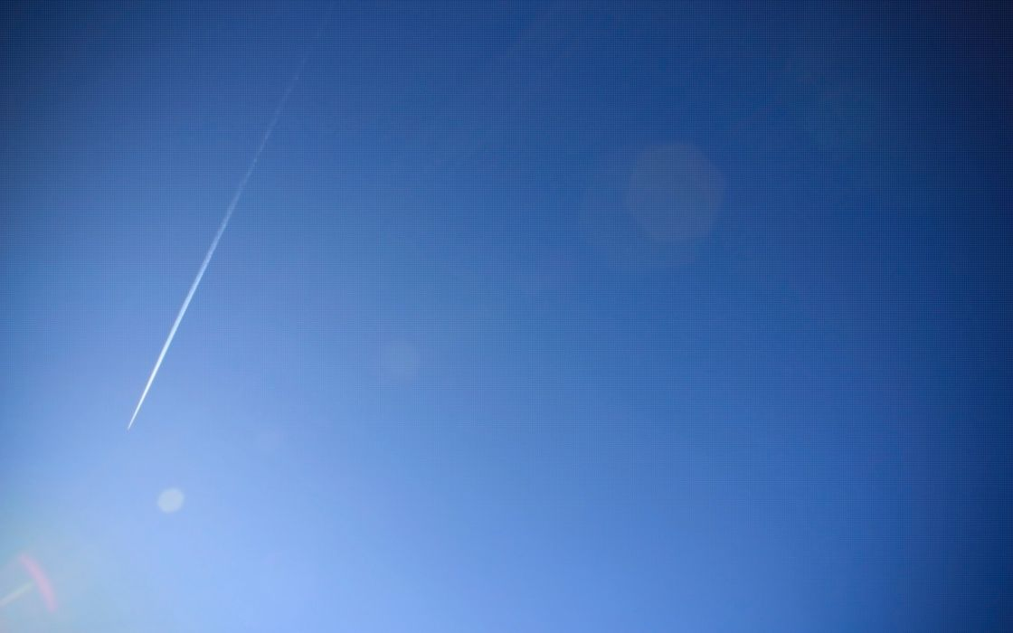 Cool blue sky wallpaper