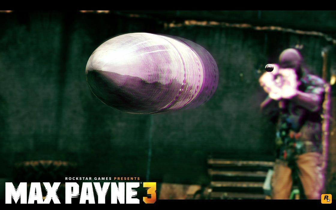 Max payne 3 bullet wallpaper
