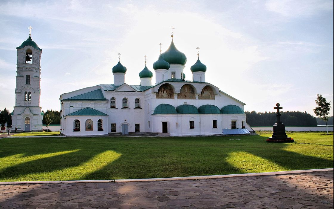 Monastery wallpaper