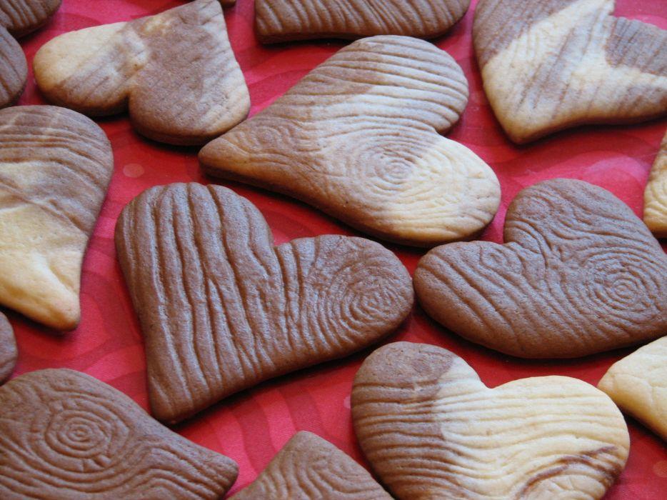 Wood grain heart wallpaper