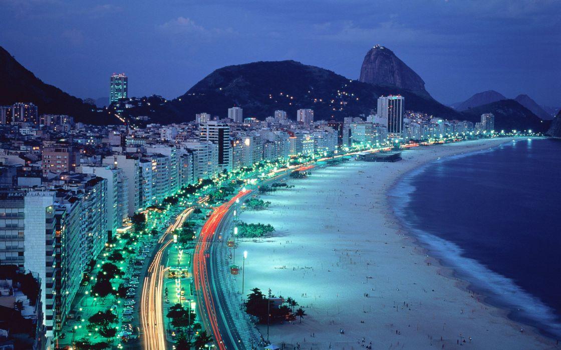 Rio de janeiro beach wallpaper