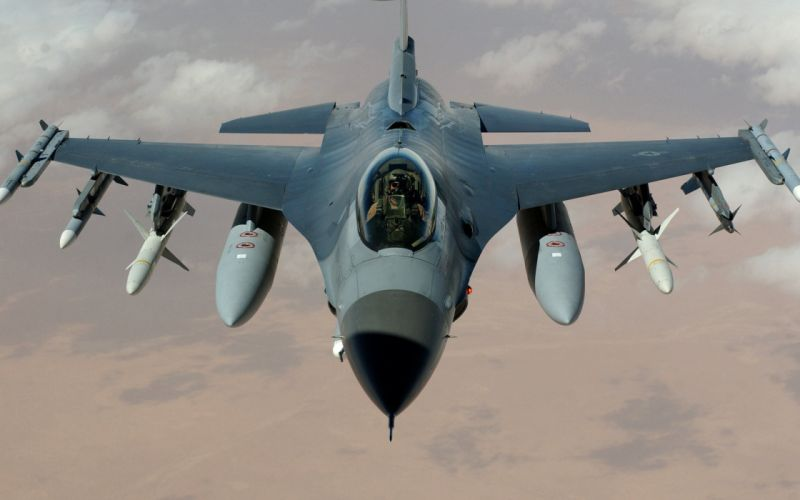 General dynamics f 16 fighting falcon wallpaper