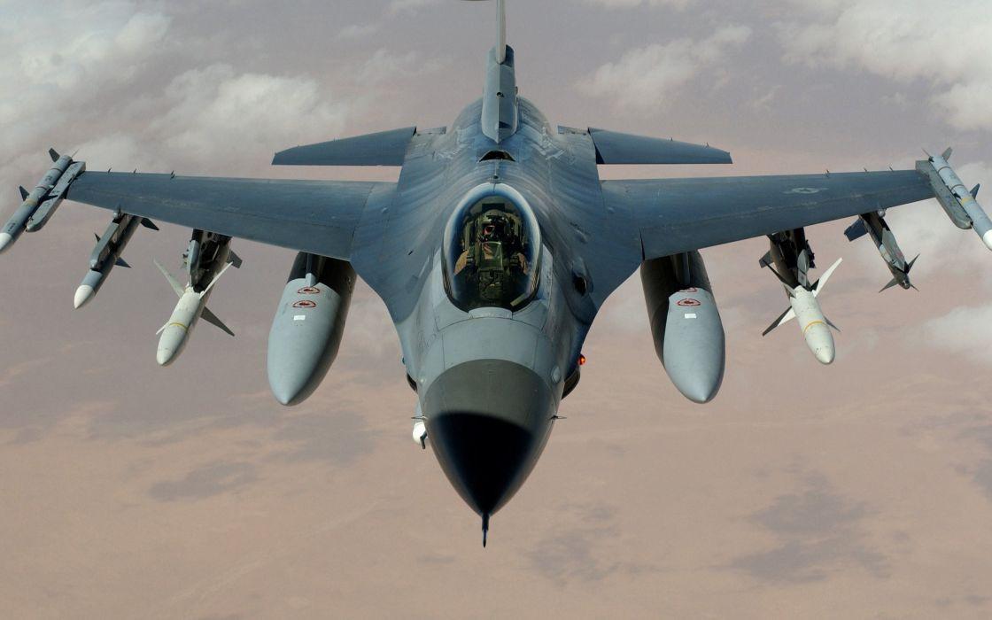 General dynamics f 16 fighting falcon wallpaper