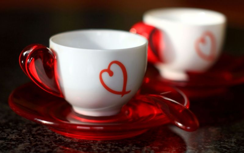 Lovely cup wallpaper
