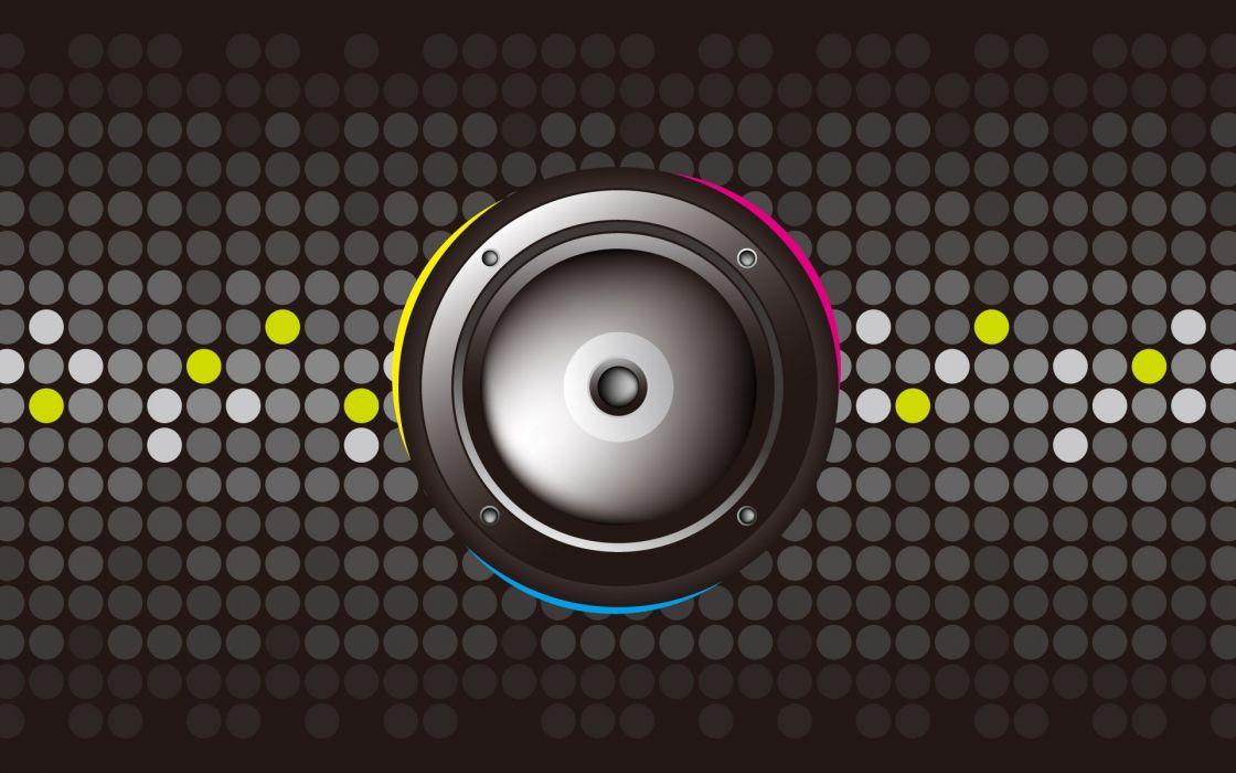 Speaker graphic wallpaper