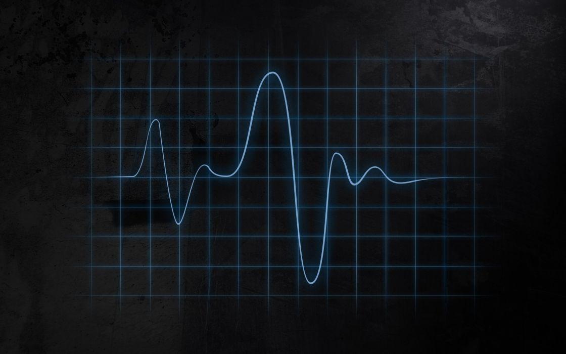 Heart beat ecg wallpaper