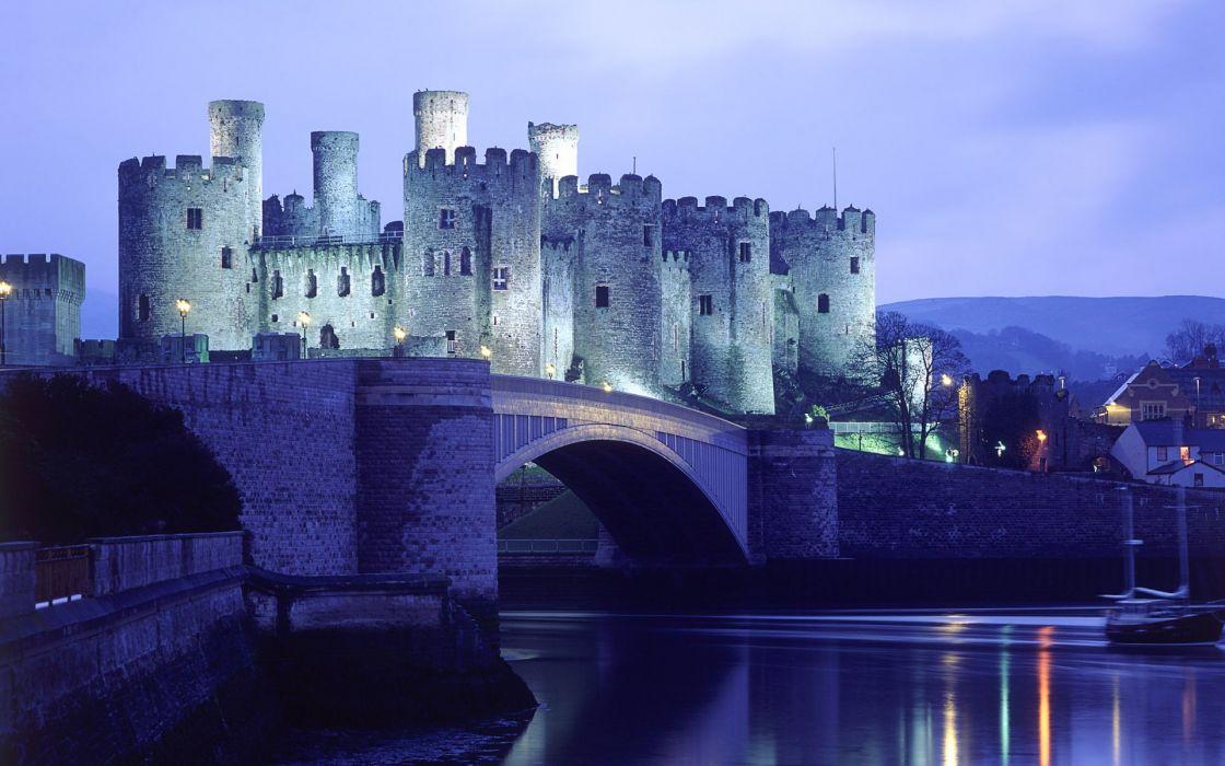 Conwy castle wallpaper