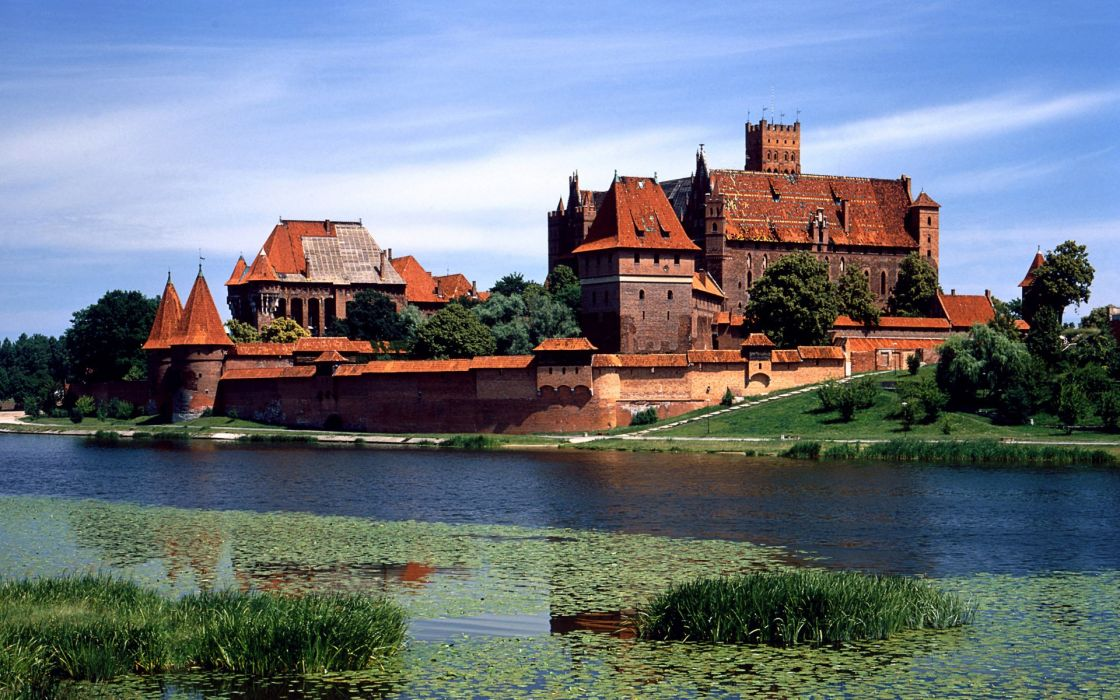 Malbork castle wallpaper