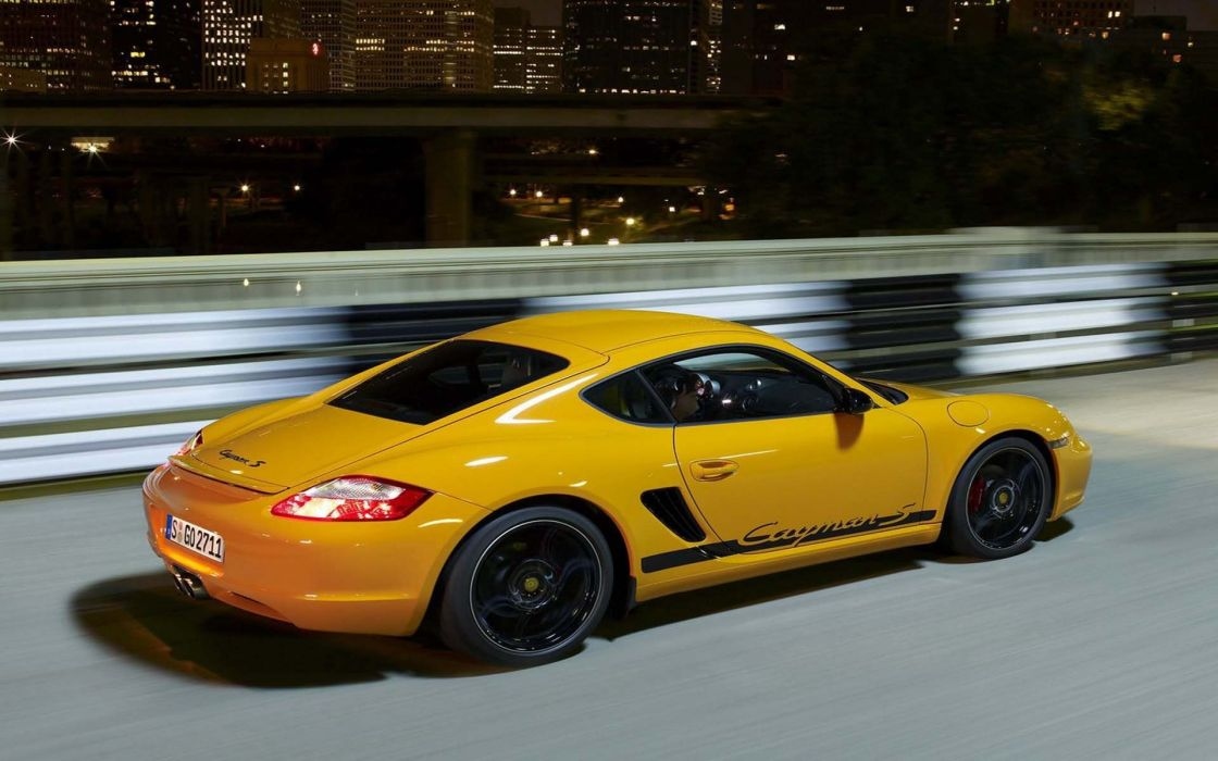 Porsche cayman s sport wallpaper