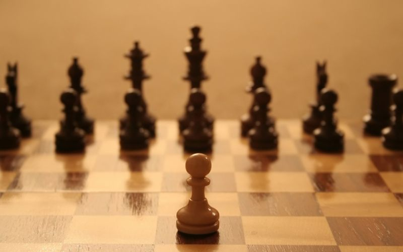 Chess play wallpaper