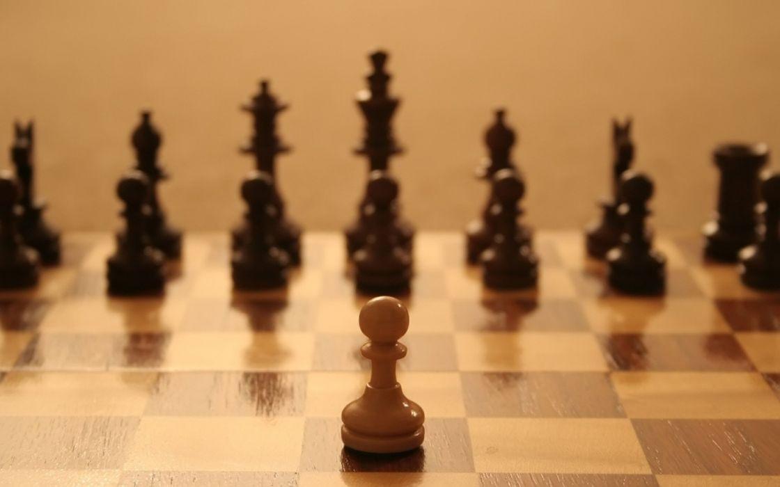 Chess play wallpaper