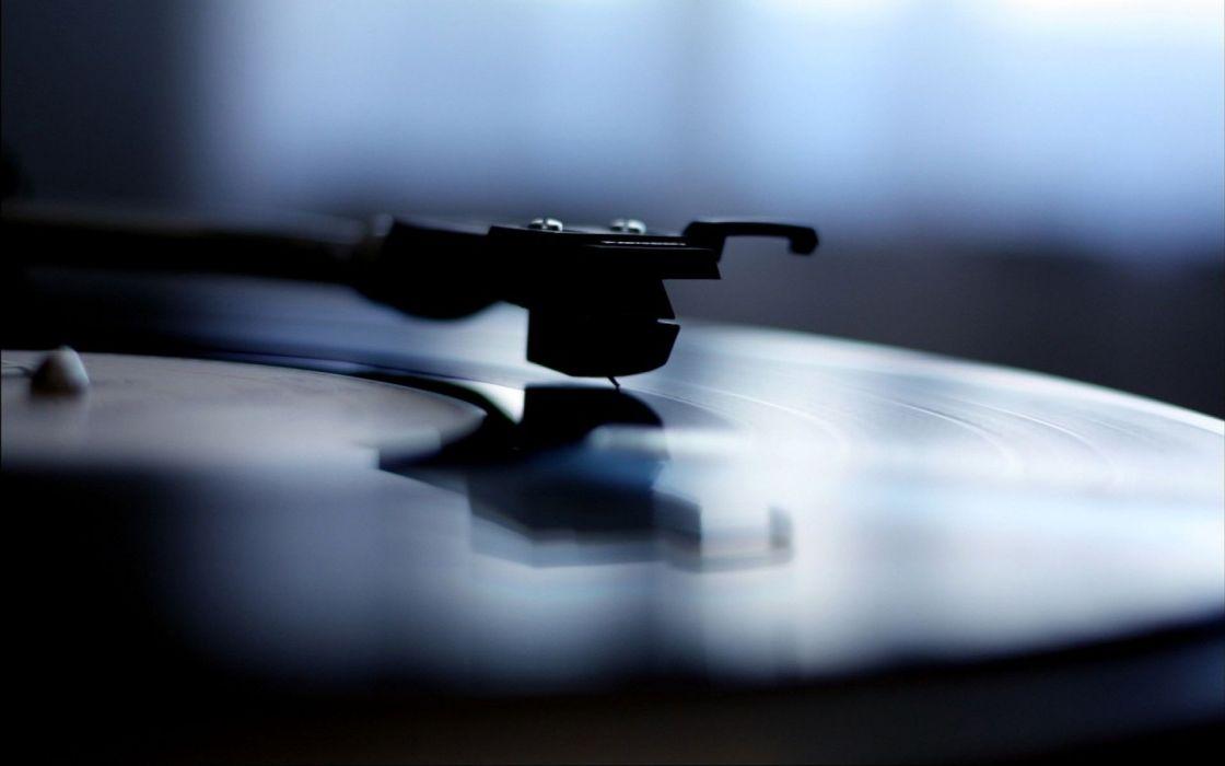 Music disc player wallpaper