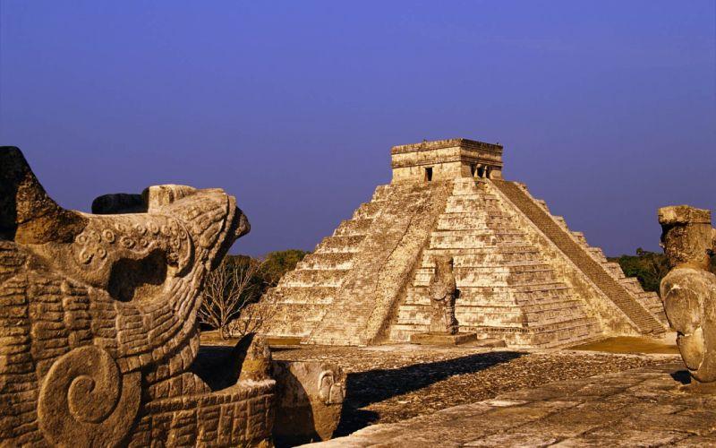 Mexico pyramids wallpaper