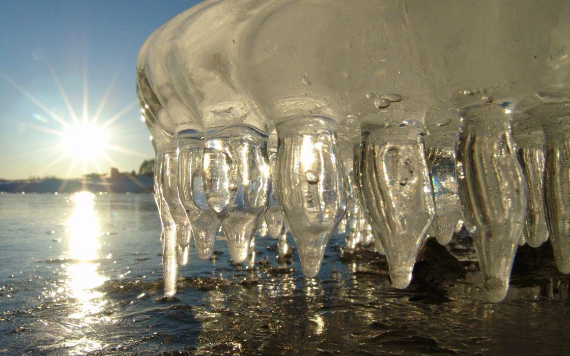 Ice winter wallpaper