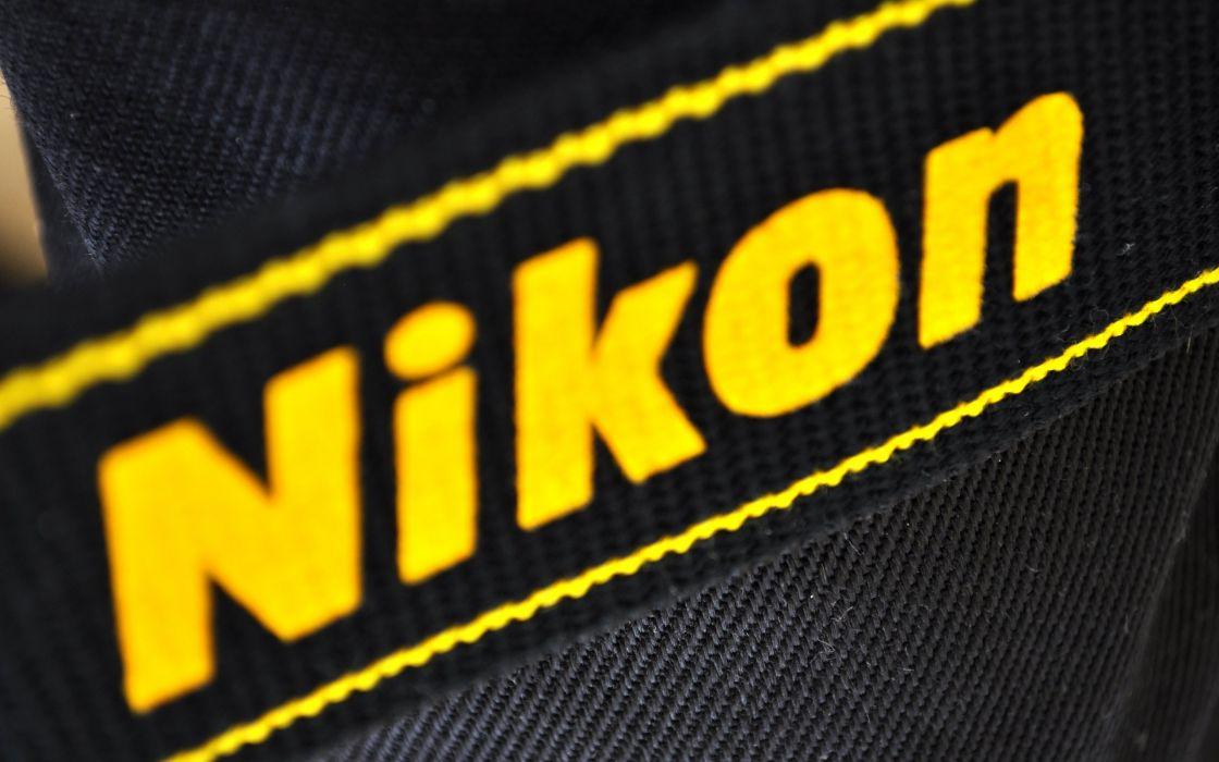 Nikon camera strip wallpaper