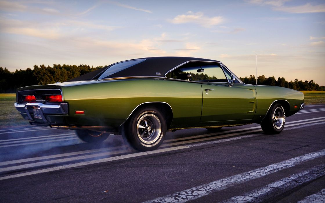 Dodge charger muscle car wallpaper