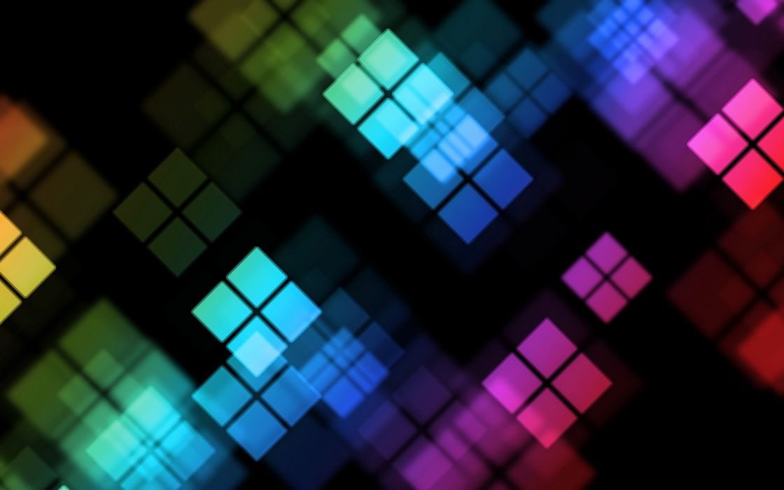 Color windows boxes wallpaper