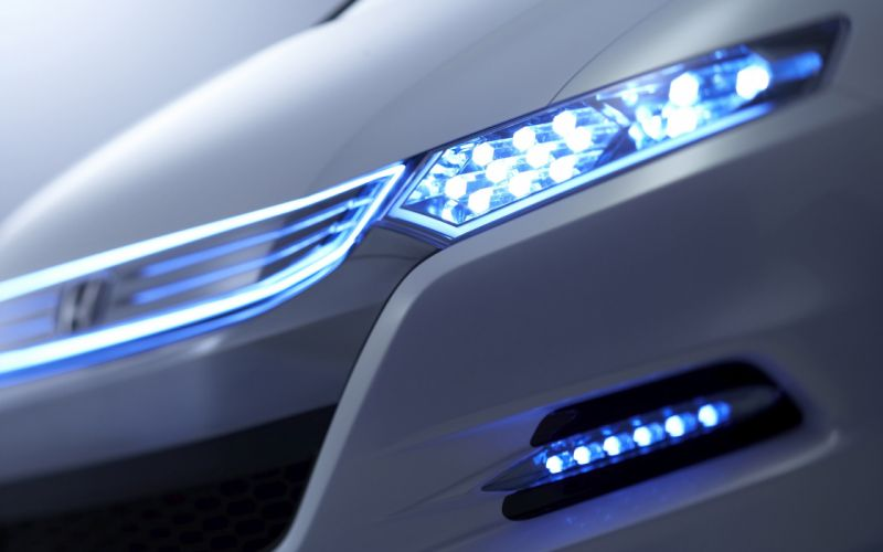 Honda insight headlight wallpaper