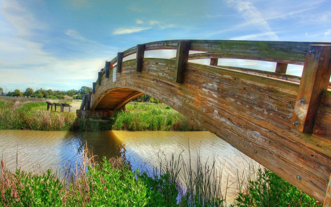 Bridges landscape photography wallpaper