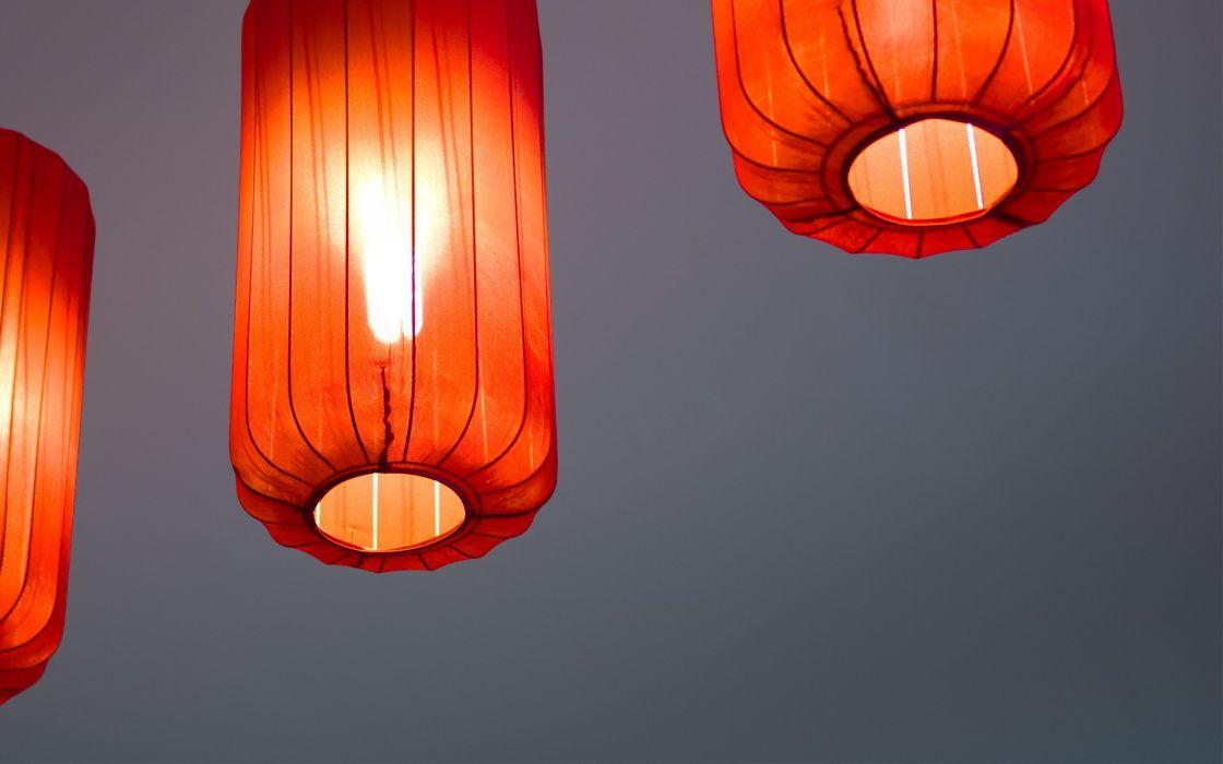 Light lamp wallpaper
