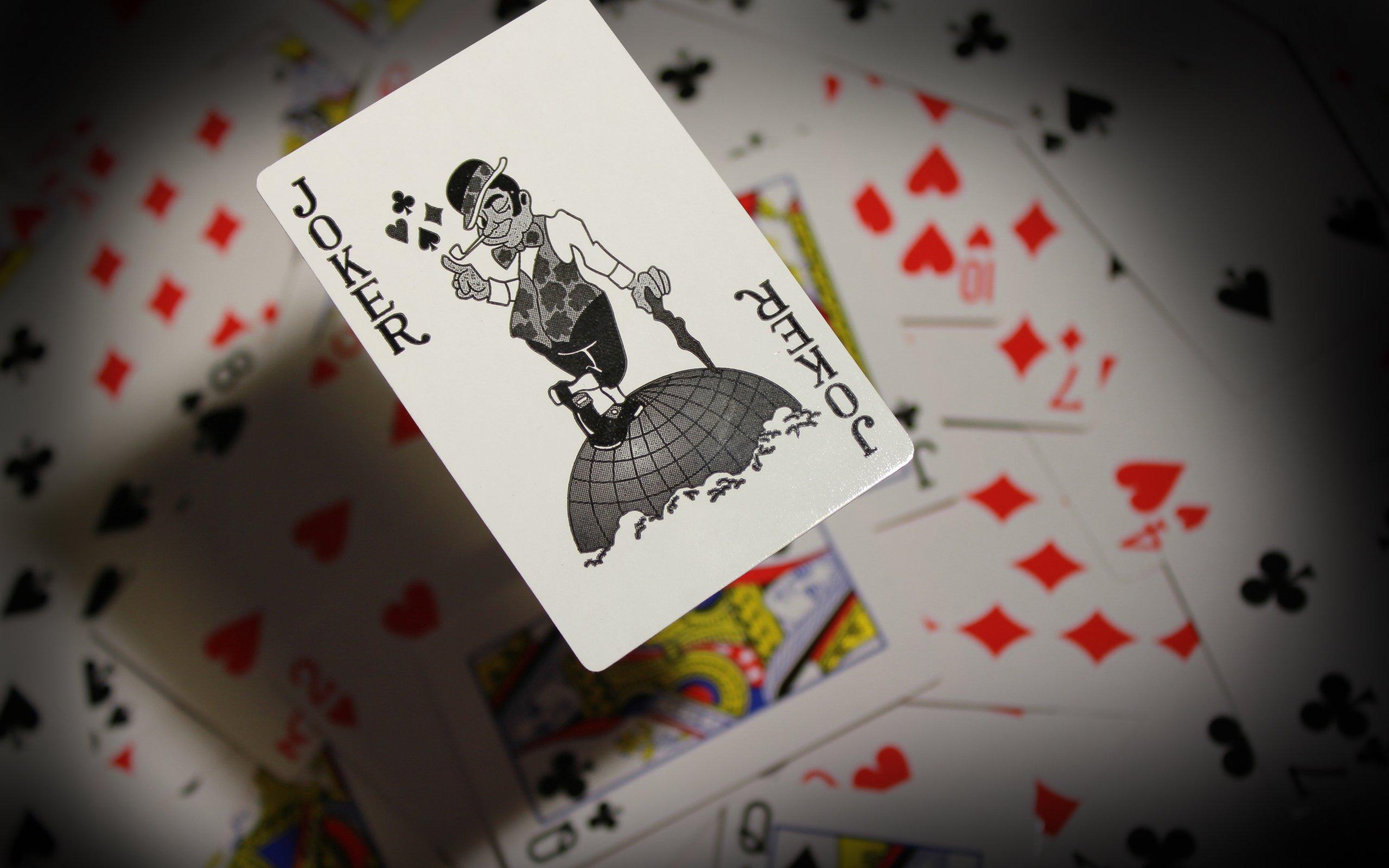 Joker Playing Card Wallpaper 2560x1600 6991 Wallpaperup