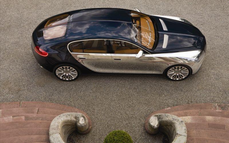 Bugatti vayron dual tone color wallpaper