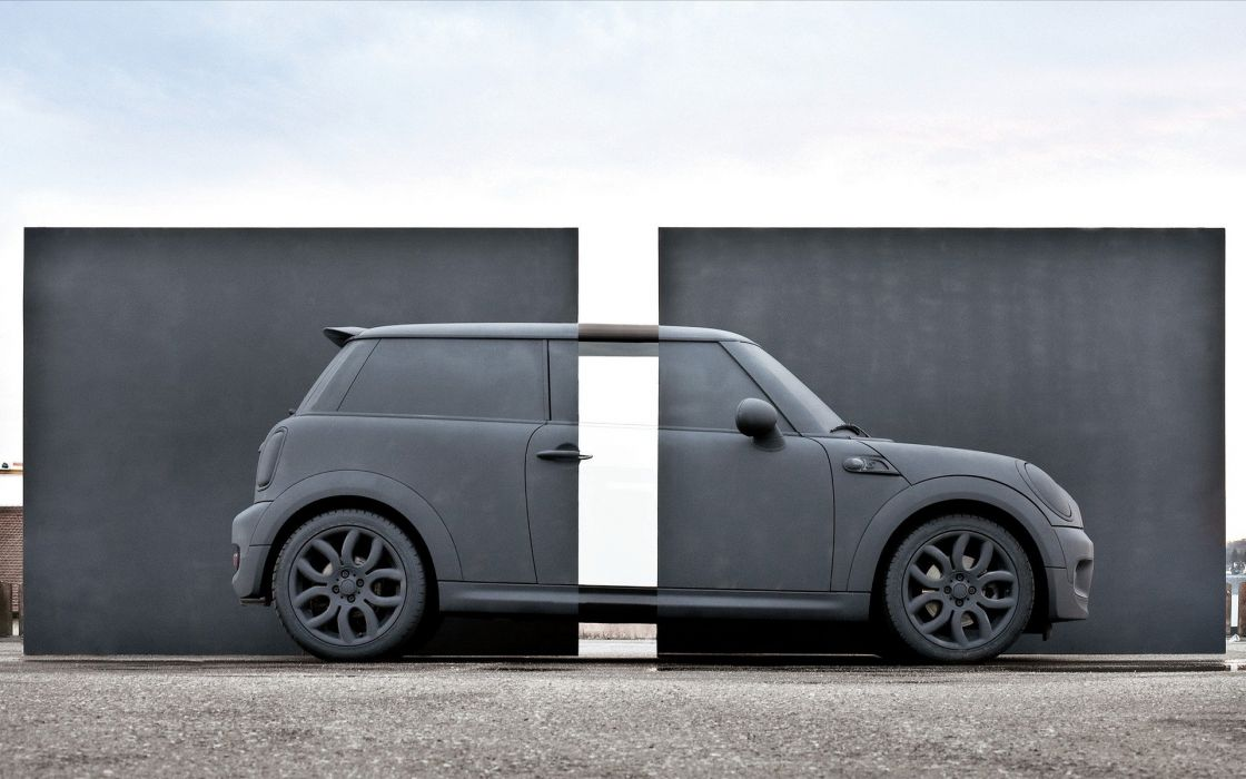 Mini cooper car wallpaper