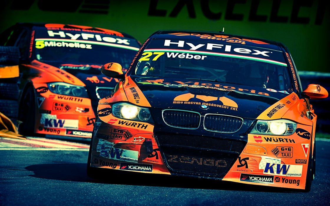 Bmw racing wallpaper