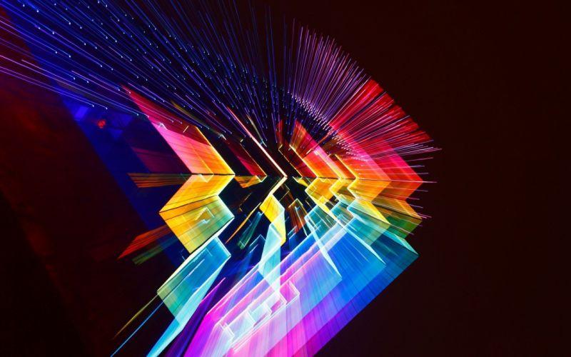 Digital color wallpaper