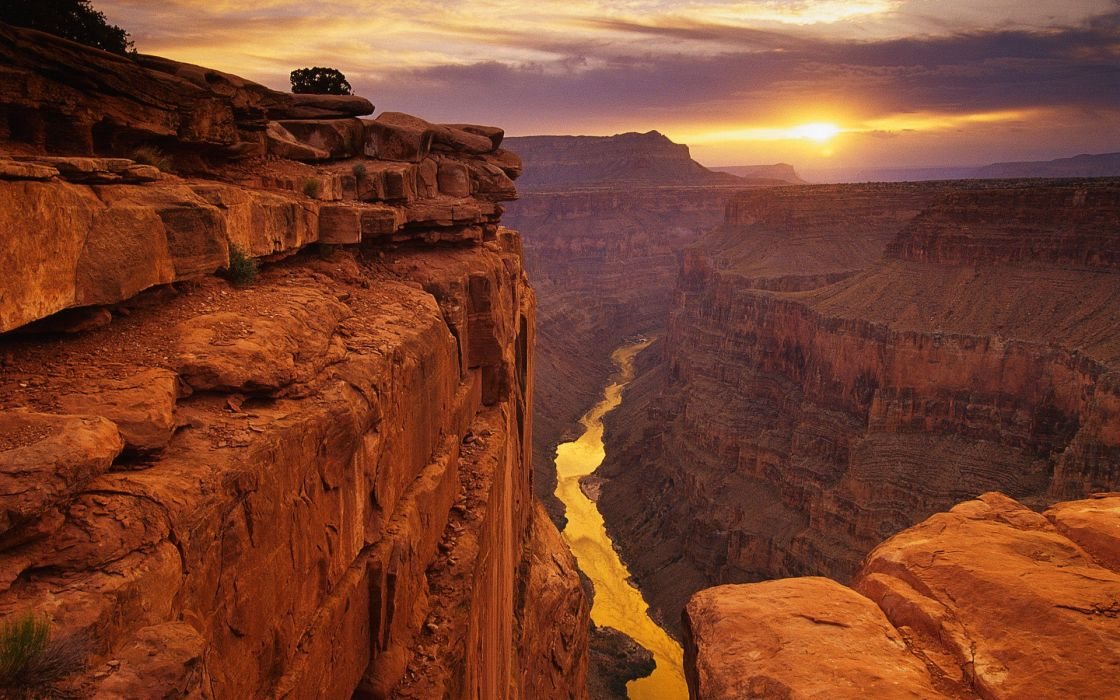 Toroweap point grand canyon national park arizona usa wallpaper