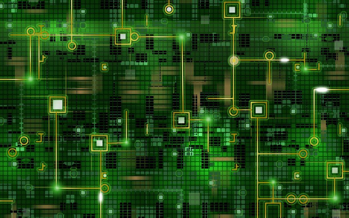 Digital matrix neon background wallpaper