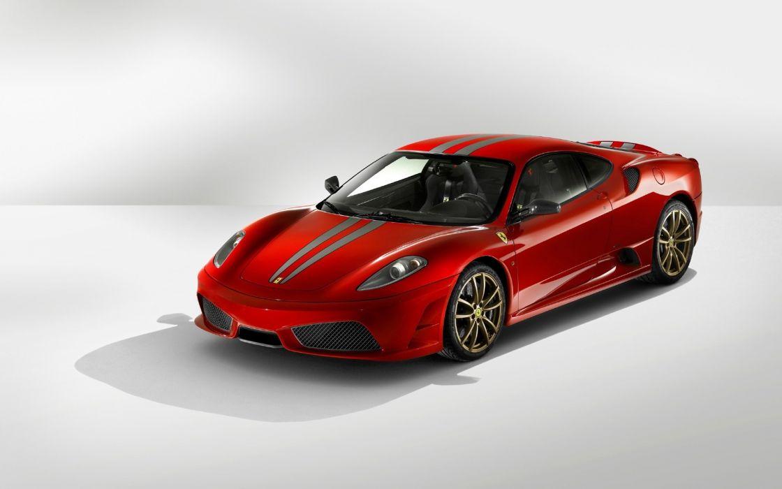 Ferrari red front angle wallpaper