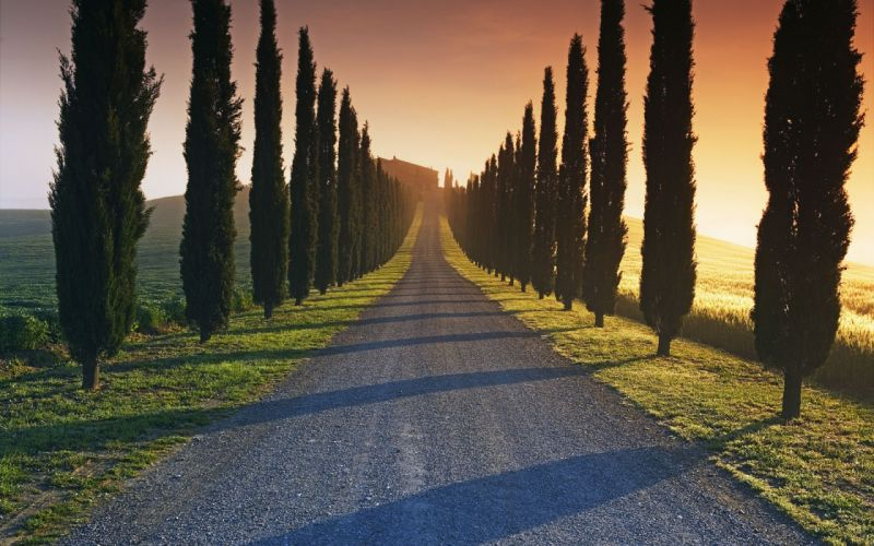 Roads of italy wallpaper