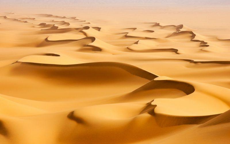 Desert sand landscape wallpaper