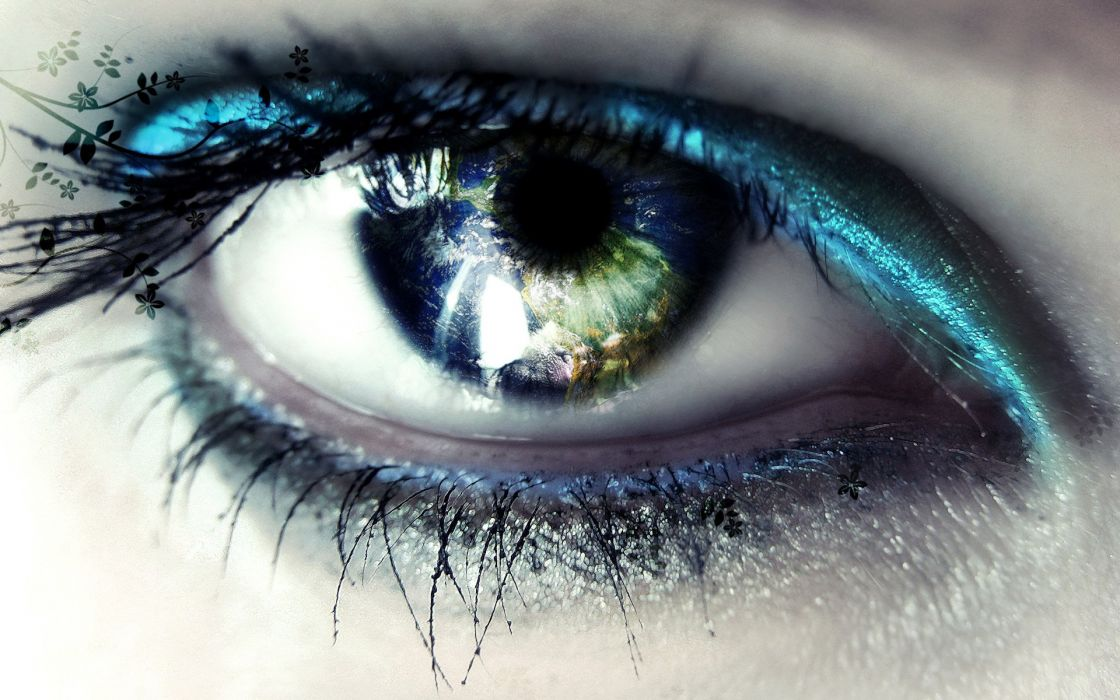 Eye beauty wallpaper