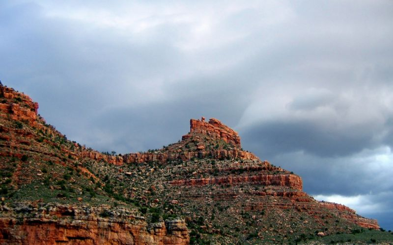 Redrock mountain wallpaper