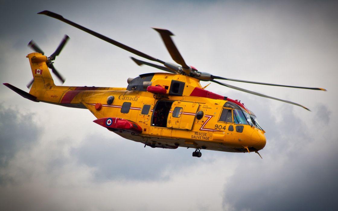 Rescue chopper wallpaper
