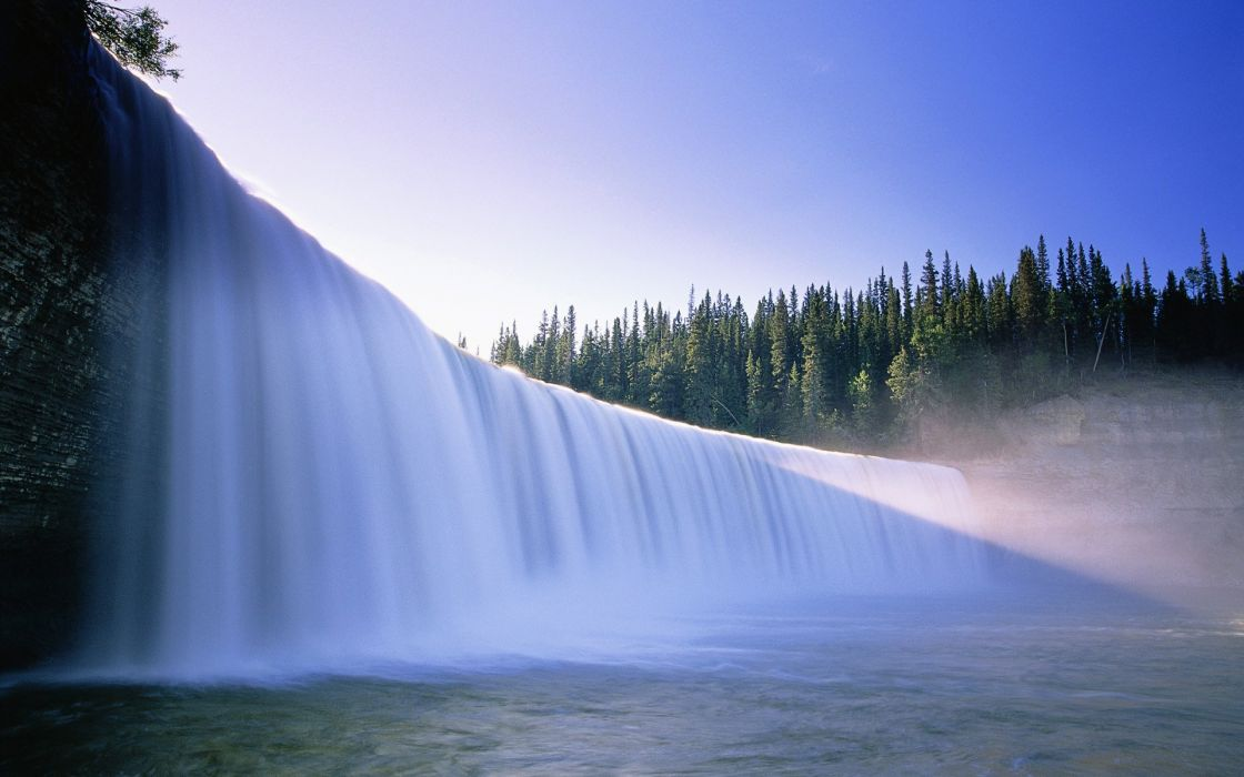 Beautiful waterfall backgrounds wallpaper