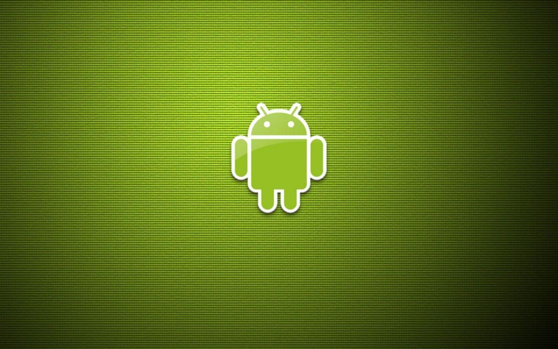 Android green bot wallpaper