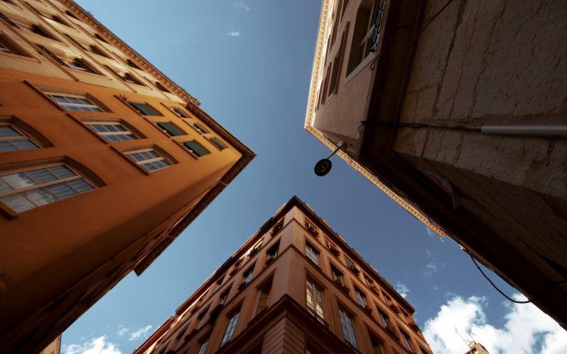 Skyscraper buildings wallpaper