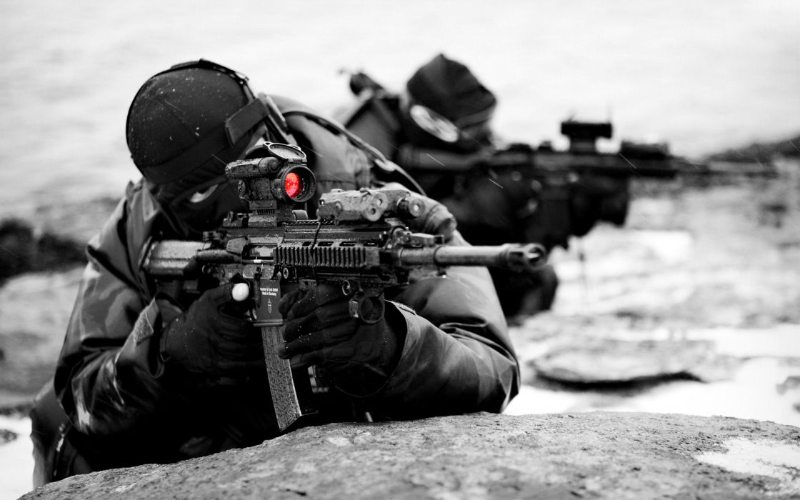 Sniper in mission wallpaper