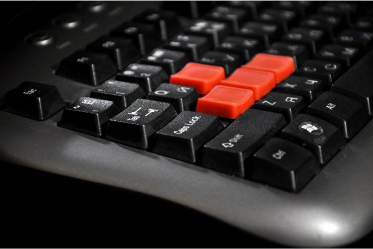 Keyboard game wallpaper