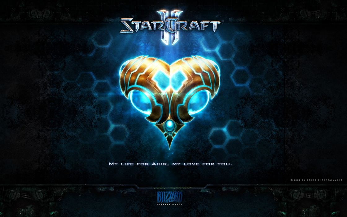 Starcraft 2 love wallpaper